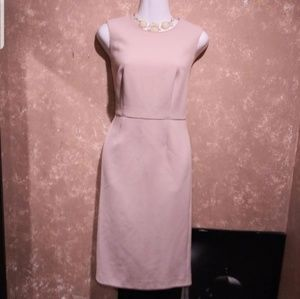 Ann taylor light pink dress sz 6